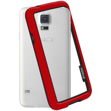 Load image into Gallery viewer, AMZER Border Case - Red for Samsung Galaxy S5 Neo SM-G903F