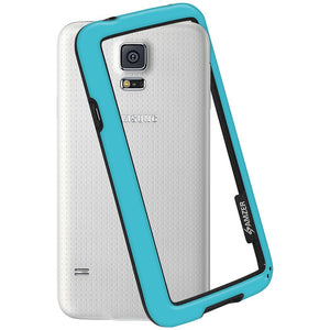 AMZER Border Case - Sky Blue for Samsung Galaxy S5 Neo SM-G903F