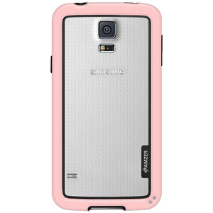 AMZER Border Case - Baby Pink for Samsung Galaxy S5 Neo SM-G903F