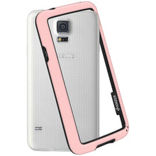 Load image into Gallery viewer, AMZER Border Case - Baby Pink for Samsung Galaxy S5 Neo SM-G903F