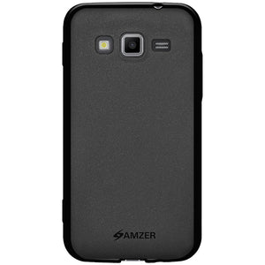 AMZER Pudding TPU Case - Black for Samsung GALAXY Core Advance GT-I8580