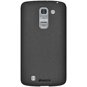 AMZER Pudding TPU Case - Black for LG G Pro 2 D837