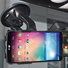 Load image into Gallery viewer, AMZER Suction Cup Mount for Windshield, Dash or Console for LG G Pro 2