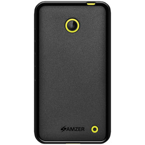 AMZER Pudding Soft TPU Skin Case for Nokia Lumia 630 - Black