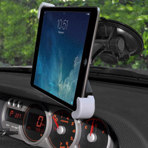 Amzer Universal Windshield, Dash or Console Mount for 7 - 11 inch Tablets