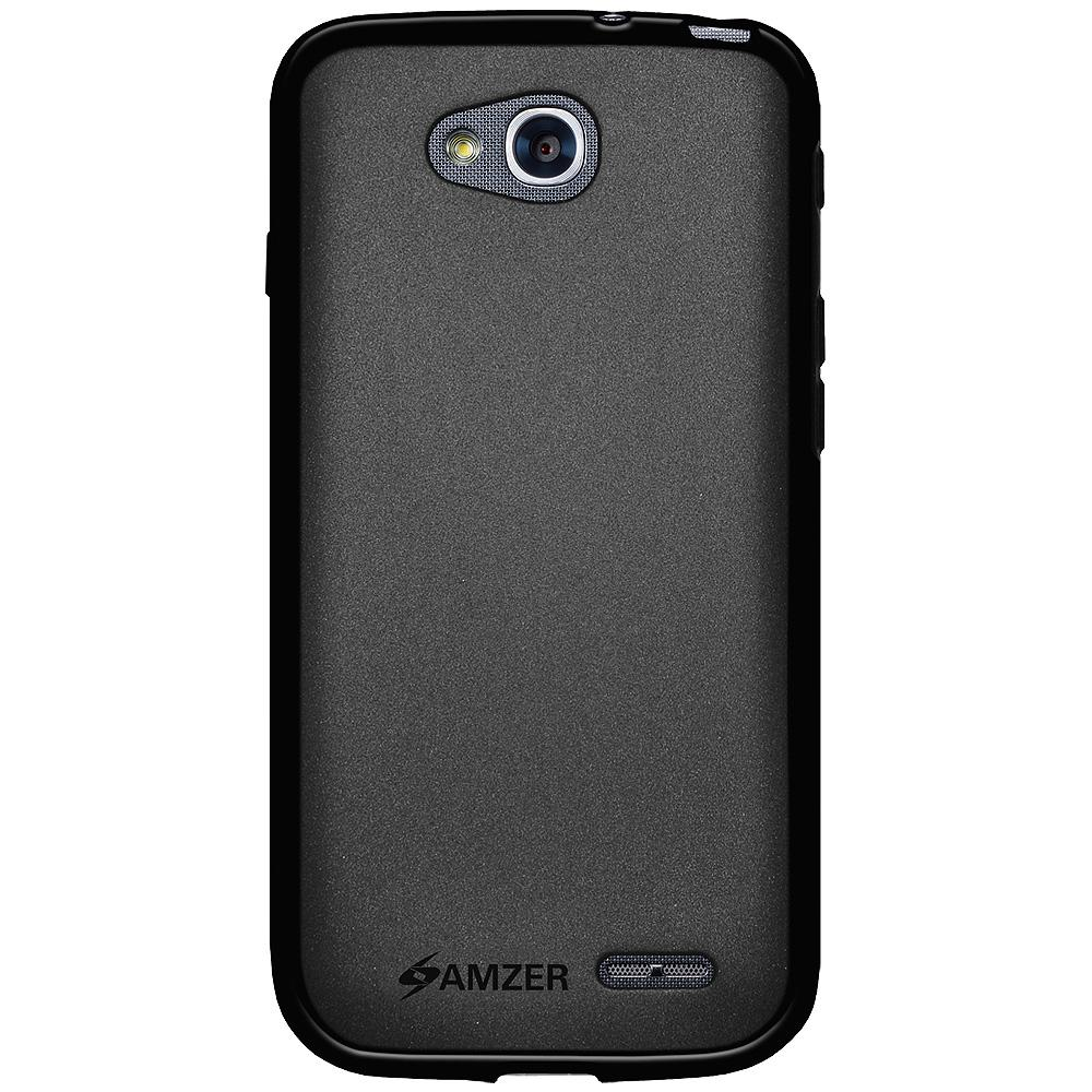 AMZER Pudding TPU Case - Black for LG L90