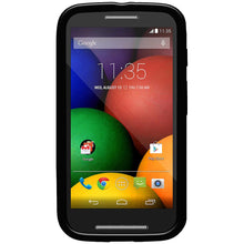 Load image into Gallery viewer, AMZER Pudding TPU Case - Black for Motorola Moto E XT1022