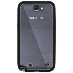 AMZER SlimGrip Hybrid Case - Black for Samsung Galaxy Note II GT-N7100
