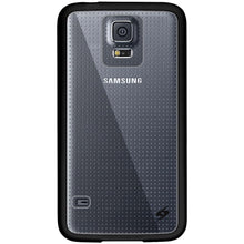 Load image into Gallery viewer, AMZER SlimGrip Hybrid Case - Black for Samsung Galaxy S5 Neo SM-G903F