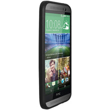 Load image into Gallery viewer, AMZER SlimGrip Hybrid Case - Black for HTC One M8