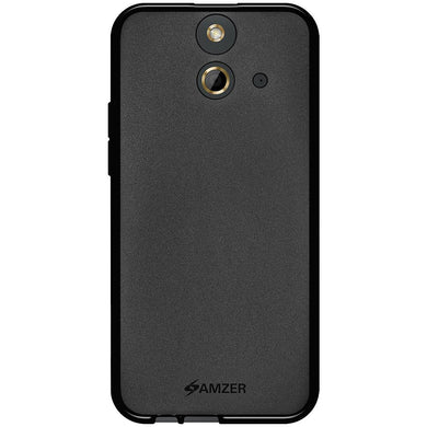 AMZER Pudding TPU Case - Black for HTC One E8