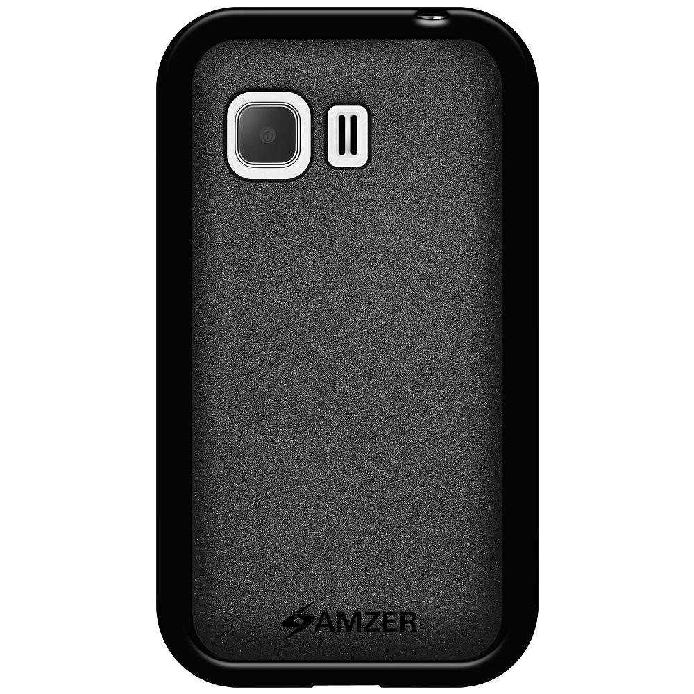 AMZER Pudding TPU Case - Black for Samsung GALAXY Young 2 SM-G130