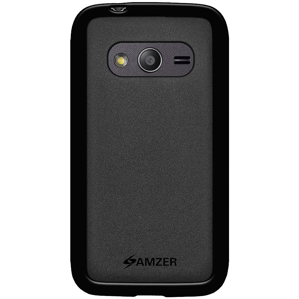AMZER Pudding TPU Case - Black for Samsung GALAXY Ace 4