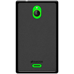 AMZER Pudding TPU Case - Black for Nokia X2