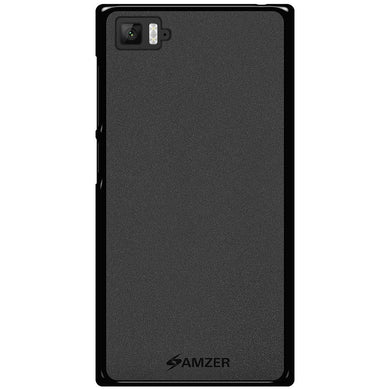 AMZER Pudding TPU Case - Black for Xiaomi Mi 3