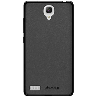 AMZER Pudding TPU Case - Black for Xiaomi Redmi Note