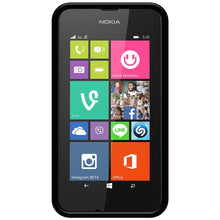 Load image into Gallery viewer, AMZER Pudding TPU Case - Black for Nokia Lumia 530