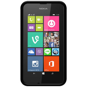 AMZER Pudding TPU Case - Black for Nokia Lumia 530