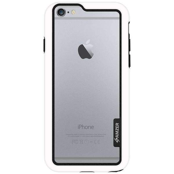 AMZER Border Bumper Hybrid Case for iPhone 6s