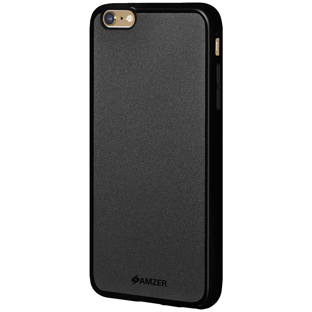 AMZER Pudding TPU Case - Black for iPhone 6