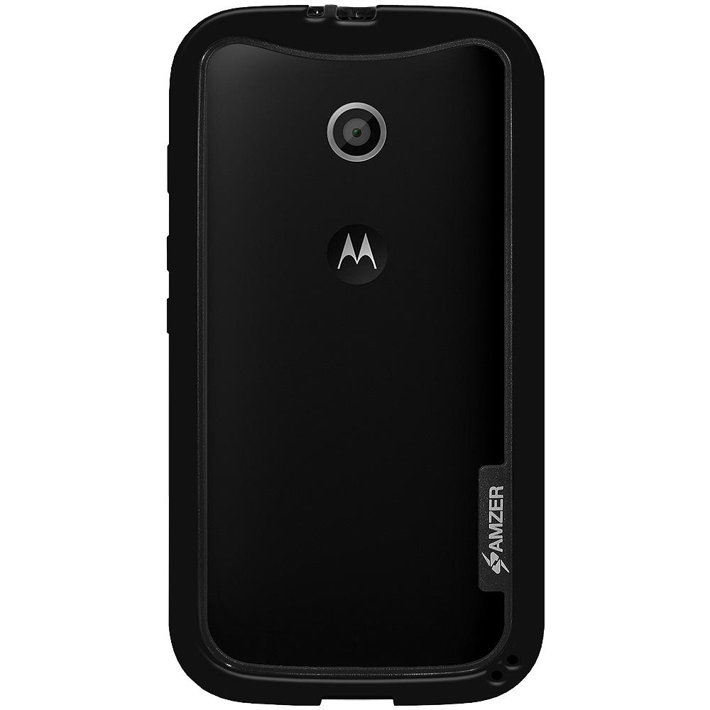 AMZER Border Case - Black for Motorola Moto E XT1022