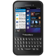 Load image into Gallery viewer, AMZER Border Case - Black for BlackBerry Q5