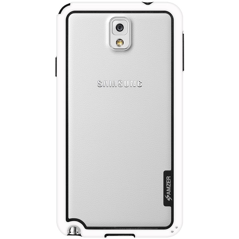 AMZER Border Case - White for Samsung GALAXY Note 3 SM-N900