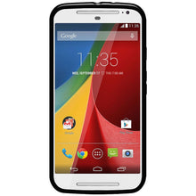 Load image into Gallery viewer, AMZER Pudding TPU Case - Black for Motorola Moto G 2nd Gen
