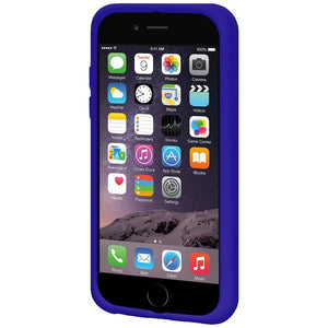 AMZER Silicone Skin Jelly Case for iPhone 6 Plus - Blue