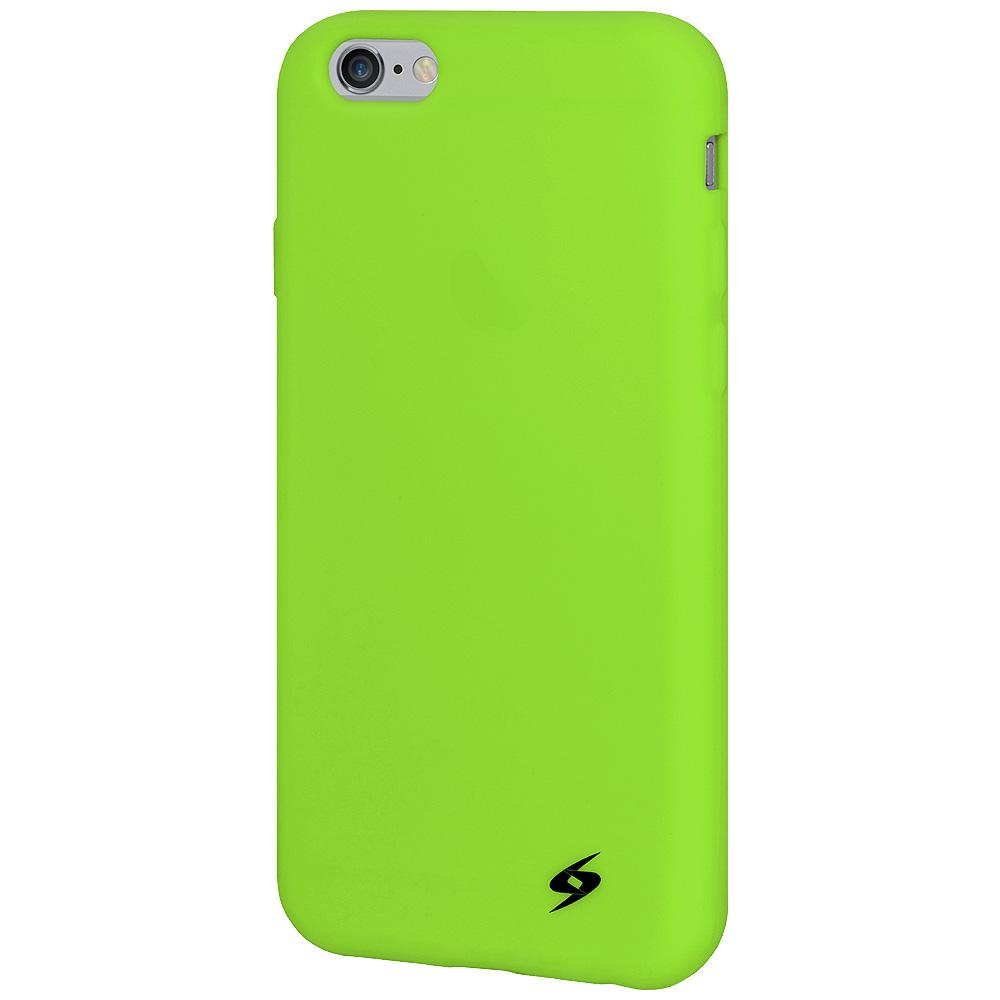 AMZER Silicone Skin Jelly Case for iPhone 6 Plus - Green