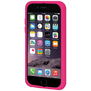 AMZER Silicone Skin Jelly Case for iPhone 6 Plus - Hot Pink