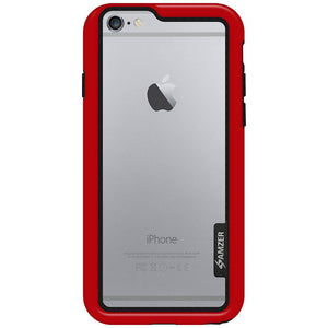 AMZER Border Case - Red for iPhone 6 Plus
