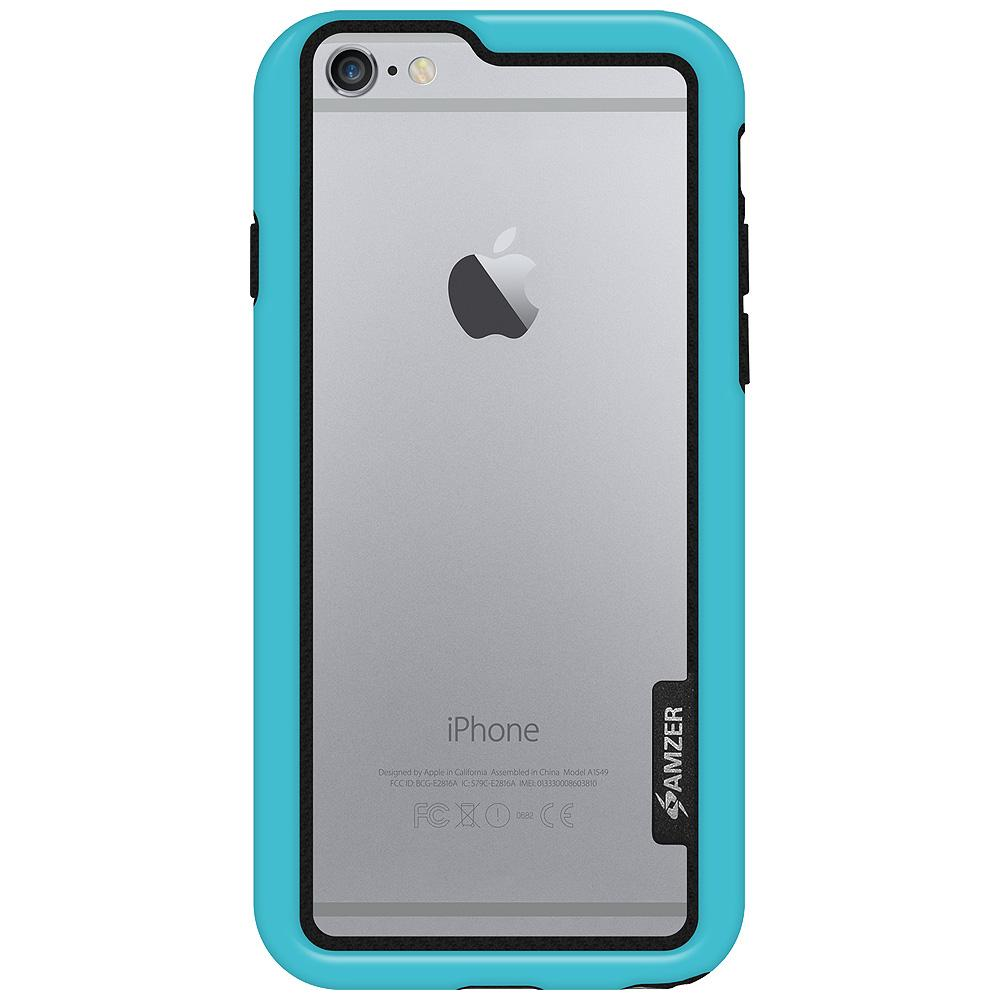 AMZER Border Case - Blue for iPhone 6 Plus