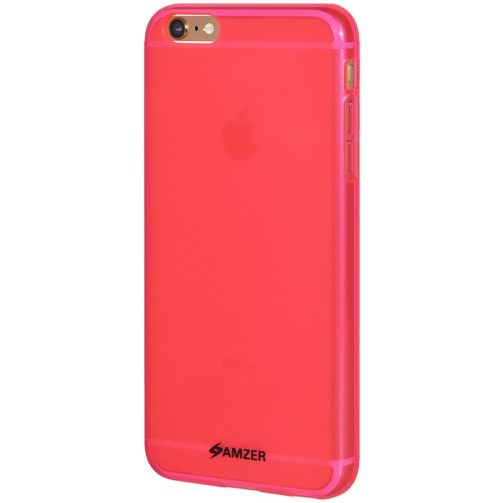 AMZER Pudding TPU Case - Hot Pink for iPhone 6 Plus