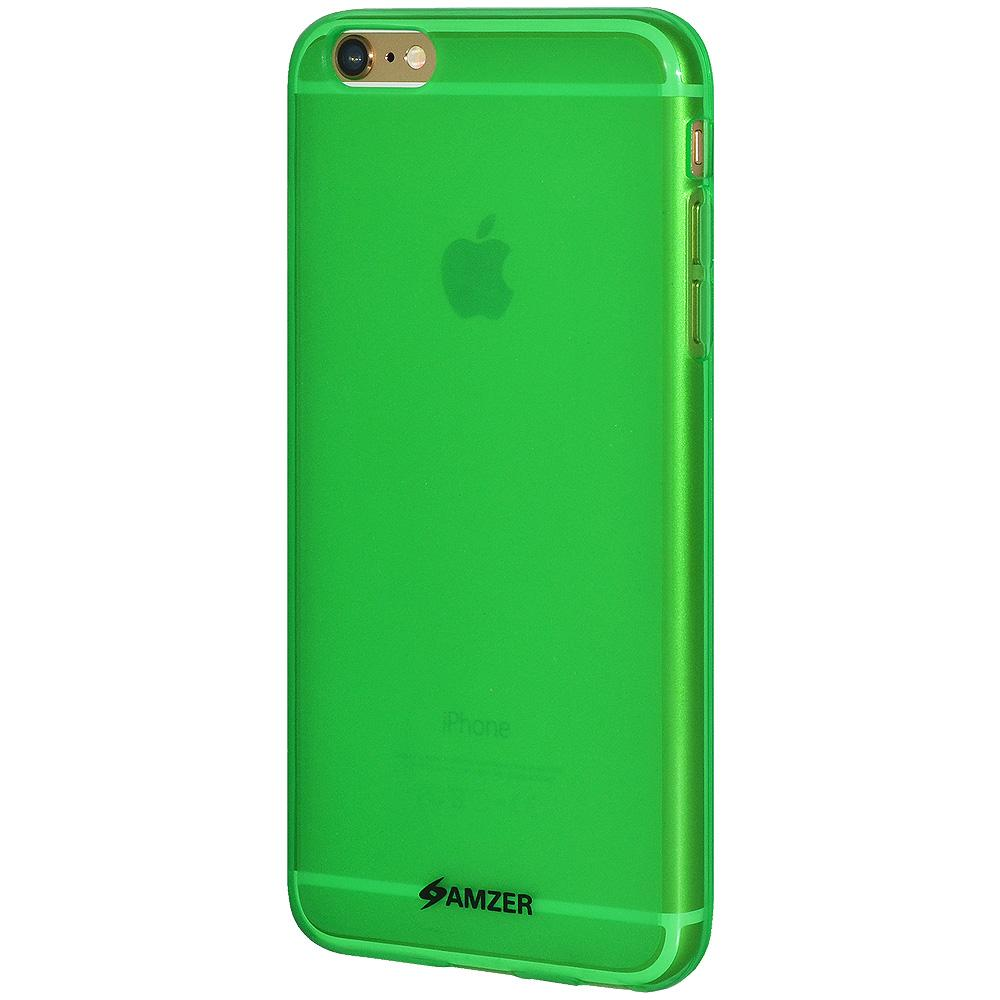 AMZER Pudding TPU Case for iPhone 6 Plus - Green
