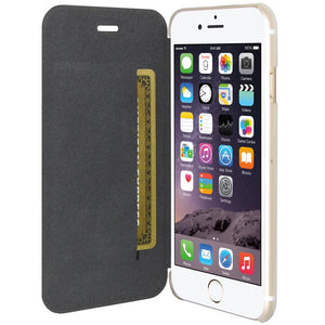 AMZER Flip Case - White for iPhone 6 Plus