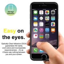 Load image into Gallery viewer, AMZER Kristal Tempered Glass HD Screen Protector for iPhone 6 Plus