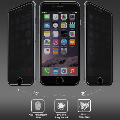 Amzer Kristal™ Privacy Tempered Glass HD Screen Protector for iPhone 6s Plus, iPhone 6 Plus