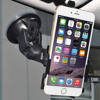 AMZER Suction Cup Mount for Windshield, Dash or Console for iPhone 6 Plus