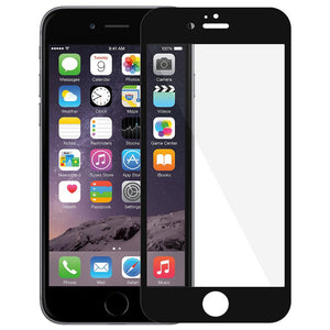 AMZER Kristal Tempered Glass HD Edge2Edge Black Screen Protector for iPhone 6 Plus