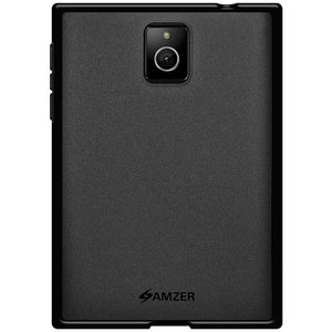 AMZER Pudding TPU Case - Black for BlackBerry Passport