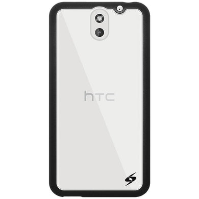 AMZER SlimGrip Hybrid Case - Black for HTC Desire 610