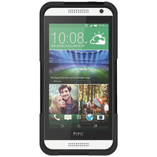 Load image into Gallery viewer, AMZER Double Layer Hybrid Case with Kickstand - Black/ Black for HTC Desire 610