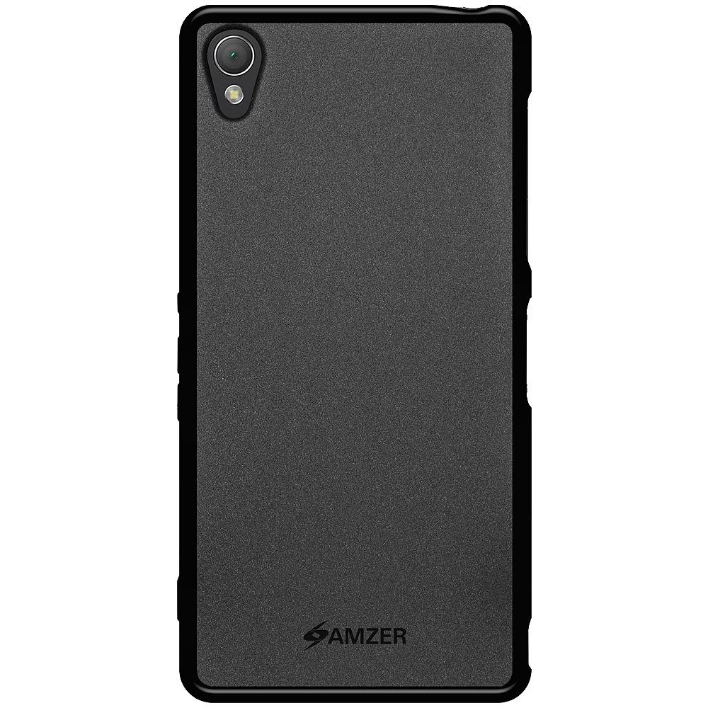 AMZER Pudding TPU Case - Black for Sony Xperia Z3