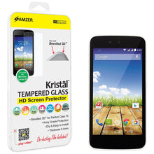 Load image into Gallery viewer, AMZER Kristal Tempered Glass HD Screen Protector for Micromax Canvas A1