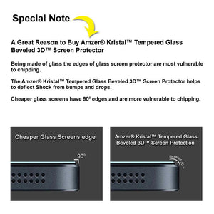 AMZER Kristal Tempered Glass HD Screen Protector for Micromax Canvas A1