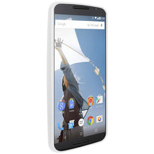 Load image into Gallery viewer, AMZER SlimGrip Hybrid Case - White for Google Nexus 6 XT1100