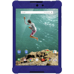 AMZER Shockproof Rugged Silicone Skin Jelly Case for Google Nexus 9 - Blue