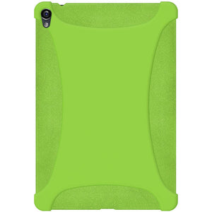 AMZER Shockproof Rugged Silicone Skin Jelly Case for Google Nexus 9 - Green