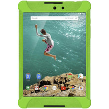 Load image into Gallery viewer, AMZER Shockproof Rugged Silicone Skin Jelly Case for Google Nexus 9 - Green